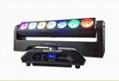 led pixel beam moving head 7x15w 4in1 rgbw led bar moving head