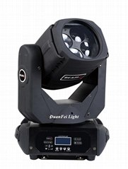 4x25W super beam led moving head  rgbw 4in1 color mixing disco light