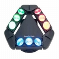 China Moving Head 9x10W  RGBW Cree 4in1 DMX LED Spider Light