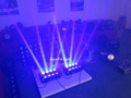High bright 8x10W RGBW moving head beam 4in1 led spider light