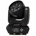 mini moving head high bright 6x25w dj