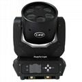 mini moving head high bright 6x25w dj pro beam led moving head disco stage light 2