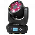 mini moving head high bright 6x25w dj pro beam led moving head disco stage light