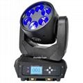 mini moving head high bright 6x25w dj pro beam led moving head disco stage light 8