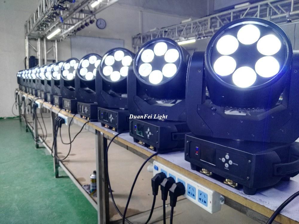 mini moving head high bright 6x25w dj pro beam led moving head disco stage light 9