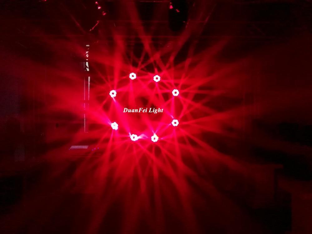 mini moving head high bright 6x25w dj pro beam led moving head disco stage light 12