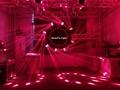 mini moving head high bright 6x25w dj pro beam led moving head disco stage light 13