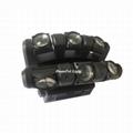 6x12w LED Moving Head Light dmx RGBW led moving head beam