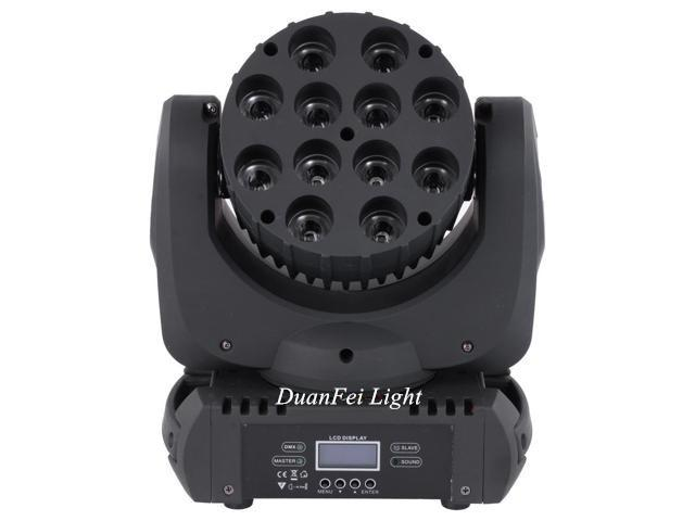 12x12W Cree LED Moving Head 4in1 Beam moving head  wash led Stage Lighting 1