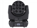 12x12W Cree LED Moving Head 4in1 Beam moving head  wash led Stage Lighting