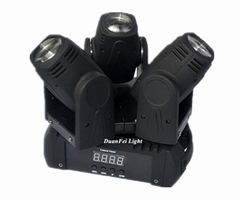 Mini led beam 3x10w rgbw 4in1 led beam moving head lyre