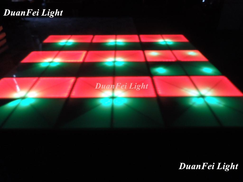 100cm*100cm 10mm dance wedding floor 720 pcs led dance floor for stage disco par