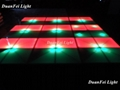 100cm*100cm 10mm dance wedding floor 720 pcs led dance floor for stage disco par 1