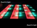 100cm*100cm 10mm dance wedding floor 720 pcs led dance floor for stage disco par 2