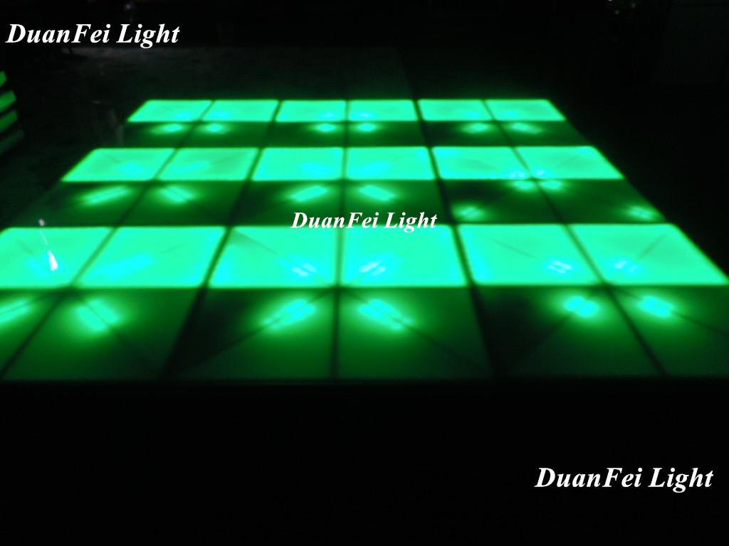 100cm*100cm 10mm dance wedding floor 720 pcs led dance floor for stage disco par 3