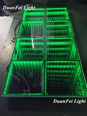 432pcs led dance floor 3D led mirror floor stage dance floor 100x100cm