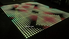 led dance floor 50x50cm 3in1 wedding led digital dance flootr stage led floor