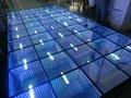 50x50cm 3d mirror dance floor dj club ktv led stage floor disco led dance floor