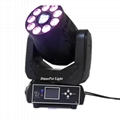 75W Spot Moving Head 9x12w LED Beam Moving head wash Light