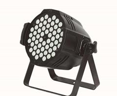 54x3w rgb led par can light 3in1 indoor par led Fan Shaped effect