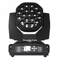 19x15w 4in1 rgbw led big bee eyes moving