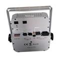 wireless dmx flat par led battery power 9x15w 5in1 rgbwa led battery par