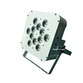 stage equipment par led batterie dmx 12x18w rgbwa uv 6in1 wireless led uplight