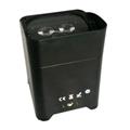 6x18w led par battery rgbwauv par led wifi wireless dmx receiver slim uplight