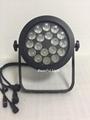 led par outdoor light 18x18w led fixture