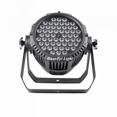 54x3w par led dmx rgb 3in1 led par can waterproof led washer uplight