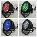 High quality 14x10w rgbw par led outdoor par 64 led waterproof flat par led