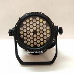 54x3w led par rgbw waterproof stage par led ip65 led par cans