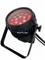 18x18W led zoom par outdoor par 64 led