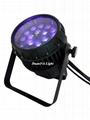 18x18W led zoom par outdoor par 64 led RGBWA UV par waterproof zoom led par