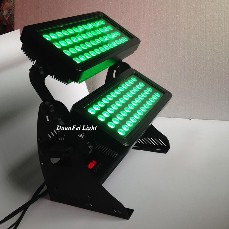 96x10w rgbw 4in1 led wall washer dmx outdoor city color led light projector  3