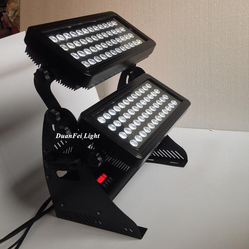 96x10w rgbw 4in1 led wall washer dmx outdoor city color led light projector  4