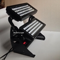 96x10w rgbw 4in1 led wall washer dmx outdoor city color led light projector