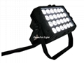 led par wall washer outdoor led city color rgbwauv 6in1 led wall washer 24x18w