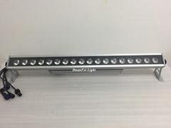 outdoor RGBWA UV led bar wall washer ip65 led bar light 18x18w