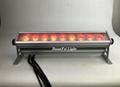 9x9w 3in1 rgb led wall washer bar outdoor bar led wall wash light dmx bar