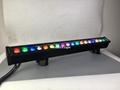 outdoor led uplight bar wall washer rgbwa led bar light 18x12w