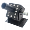LED Co2 jet machine 12x3w led rgb 3in1 co 2 jet machine stage equipment