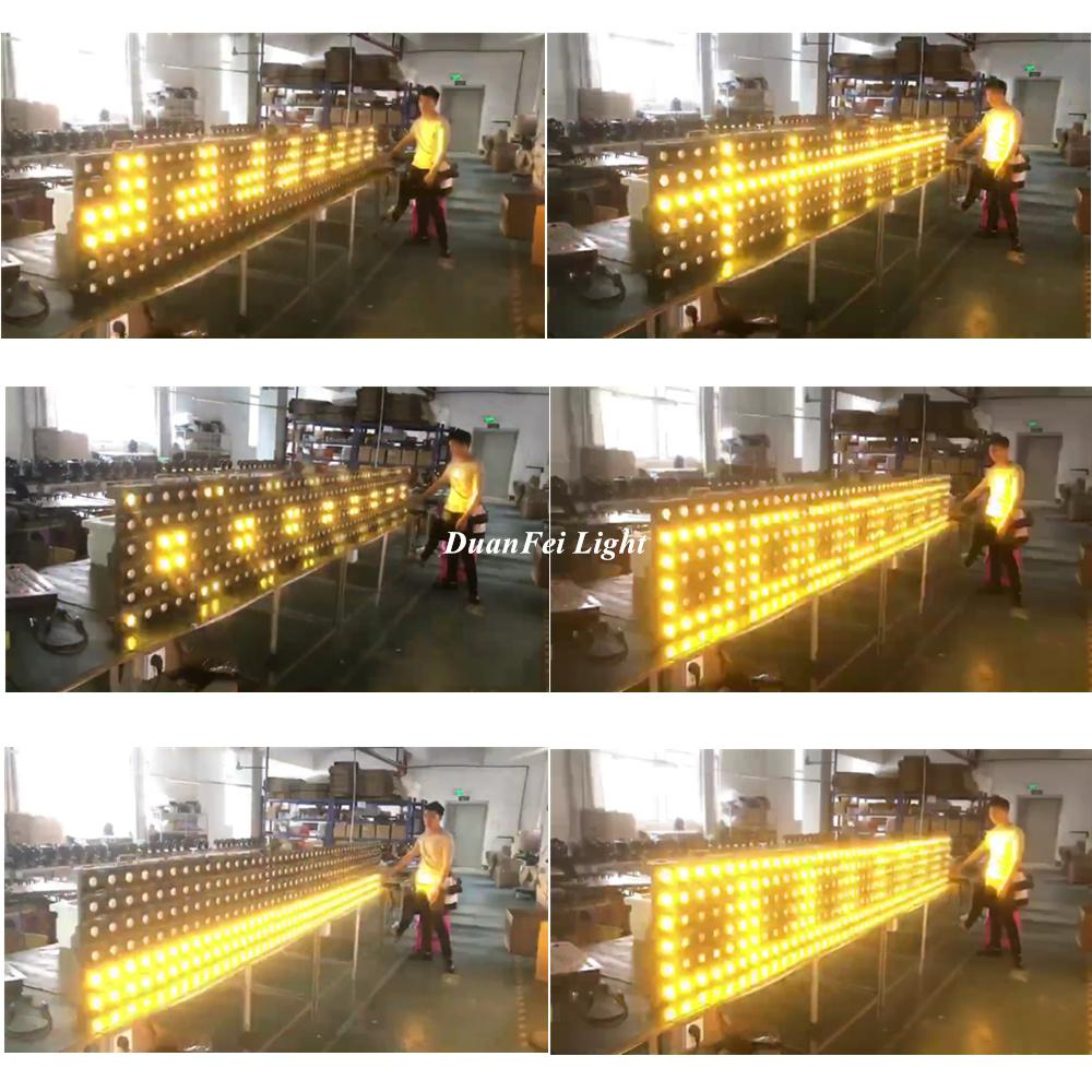 36x3w golden led blinder light stage led matrix light 2