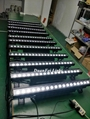 Outdoor 18x10w 4in1 rgbw led linear bar wall washer light dot control 5