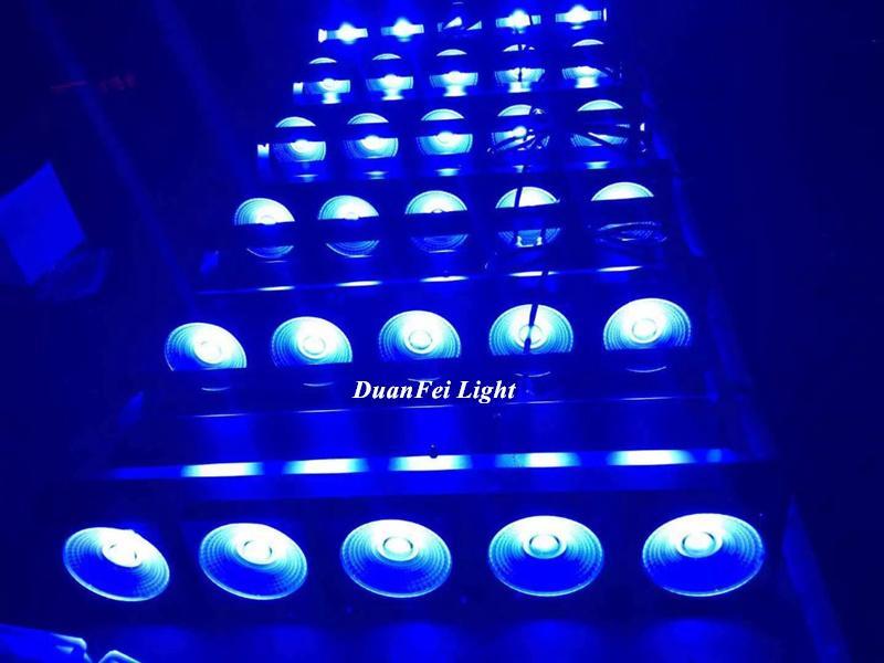 5x30w rgb led matrix stage 3in1 led dot matrix cob blinder 4