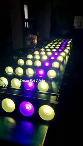 5x30w rgb led matrix stage 3in1 led dot matrix cob blinder 7
