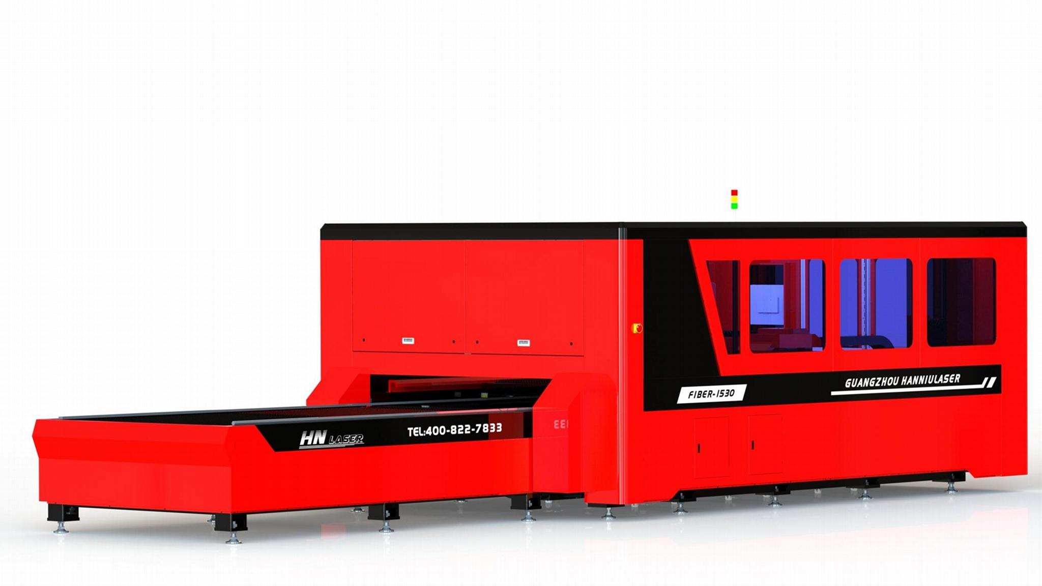 3300w光纤金属切割机