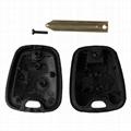 2 Button Key Shell Remote Key Fob Case For Citroen C1 C2 C3 Xsara Saxo Berlingo  4