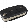3 Button Panic Folding Remote Key Fob