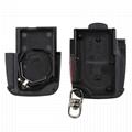 3 ButtonPanic Folding Remote Key Fob Case For Audi A3 A4 S4 Uncut Key Shell 5